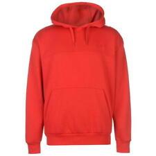 Brand New Slazenger Pullover Hoody Mens Red Jumper Sweatshirt Sweater