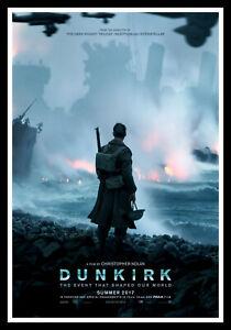 Dunkirk Movie Poster Print & Unframed Canvas Prints