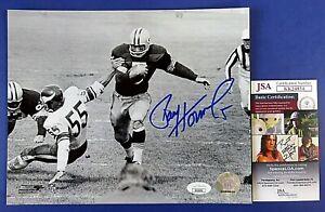 PAUL HORNUNG SIGNED 8x10 PHOTO ~ Green Bay Packers FOOTBALL ~ JSA KK24854