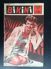 Ancienne revue Bikini N° 25 Pin up Erotisme BE