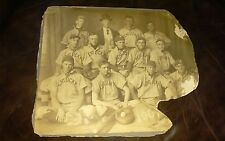 1907 KENTUCKY WILDCATS COLLEGE BASEBALL TEAM ORIGINAL CABINET PHOTO 11x13
