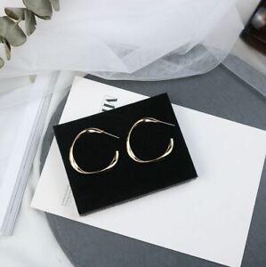Gorgeous Hoop Earrings Women Gold Silver Jewelry Free Shipping (US Seller)