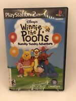 Winnie The Pooh's Rumbly Tumbly Adventure Sony PlayStation 2 Minor Case Damage
