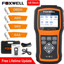 Foxwell Automotive OBD2 ABS Airbag SRS SAS Reset Car Diagnostic Scan Tool