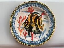 Anthropologie Nathalie Lete Dinner Plate - Fish