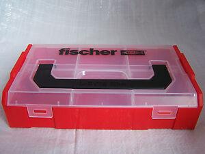 L-boxx mini FISCHER FIXtainer leer, #533069 var. Fächer, können verbunden werden