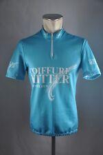 Vintage coiffure bateadores Jersey bike talla M BW 50cm Cycling rueda camiseta ke3