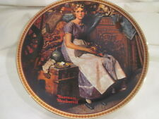 Dreaming in the Attic by Norman Rockwell 8.5 inch Collector Plate