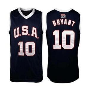 2006 Bryant Team USA Basketball Jerseys Sewn America Games Custom Names