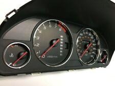 HONDA PRELUDE 97-01 Chrome Cluster gauge Dashboard rings speedo Trim instrument