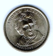 2008-P $1 Andrew Jackson Brilliant Uncirculated 7TH Presidential Dollar Coin!