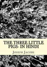 The Three Little Pigs- in Hindi by Joseph Jacobs (2016, Paperback)