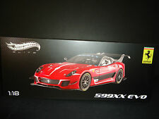 Hot Wheels Elite Ferrari 599XX EVO Red 1/18