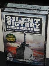 Silent Victory: Submarine Warfare in WWII / Devil Boat: The Saga Of PT 658, NEW!