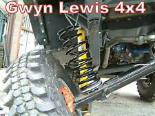 Land Rover Defender 90 Rear Spring Relocator Dislocation Cone challenge 4x4