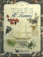 THÉS et TISANES par Jill NORMAN = Le Jardin des Délices