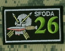KILLER ELITE SPECIAL FORCES OPERATIONAL DETACHMENT-A HALO IRON-ON SSI: ODA 26