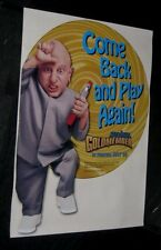 Taco Bell AUSTIN POWERS GOLDMEMBER Advance Window Cling MINI ME Verne Troyer