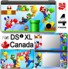 Super Mario VINYL SKIN STICKER For NINTENDO DSi XL LL 1