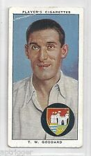 1938 John Player & Sons (10) T. W. GODDARD Gloucestershire & England