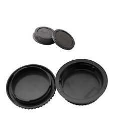 Rear Lens cap + Camera body cap for CANON EOS 450D 550D 600D 700D 60D EF EF-S