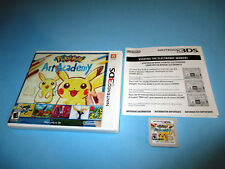 Pokemon Art Academy (Nintendo 3DS) XL 2DS Game w/Case & Insert