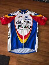 Sms Santini Colombia Cycling Jersey Selle Italia Trecolli Mens XXL 52