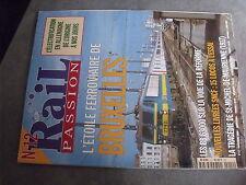 $$p Revue Rail Passion N°12 étoile ferroviaire Bruxelles  BB 63000  CF Vosges