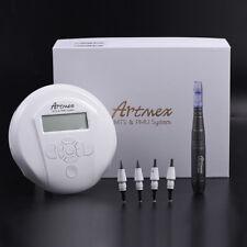 Permanent Makeup Tattoo Machine Artmex Eye Brow Lip Rotary Pen V6 Micro Needle