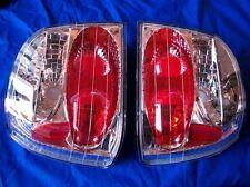1993-1999 Volkswagen Golf Jetta Clear & Chrome Tail Lamp Light Set SONAR