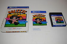 SQUEEZE BOX Atari 2600 Video Game COMPLETE In BOX TESTED US Games