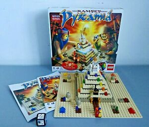 LEGO 3843 Ramses Pyramid Game - Complete in Box & with Instructions & Manual