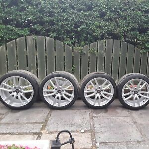 """Set of 4 Wolfrace 18"""" Alloy Wheels and Tyres"""