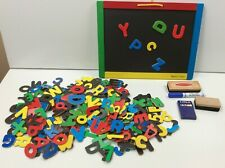 Big Lot 235 Colorful Letters & Numbers w/ Magnetic Chalkboard & Dry Ease Board