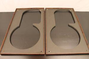 JBL L100 Walnut Frames Ready to Install Quadrex Foam Fabric Inserts Perfect Fit
