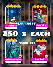 Take Any 1000 Cards From Magic Set ( Fastest Delivery ) :- Coin Master Card