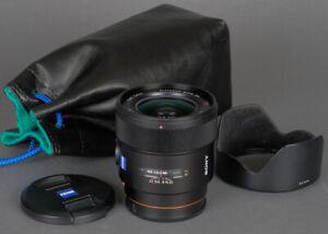 Mint Sony A-Mount Zeiss Distagon 24mm f2 ZA SSM  (SAL24F20Z) Wide Angle Warranty