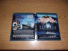 Titanic (Blu-ray/DVD, 2012, 3-Disc Set)