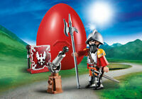 Playmobil Easter Egg 70086 Knight With Cannon Castle Kid's Gift Toy RARE
