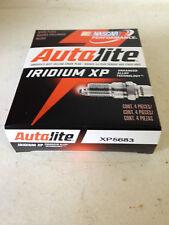 FOUR(4) Autolite Iridium XP5683 Spark Plug BOX/SET *$3 PER PLUG FACTORY REBATE!*
