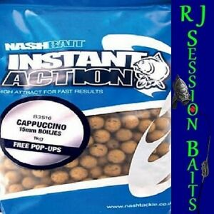Nash Cappuccino 15mm Session Pack of 25 Boilies