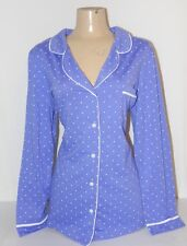 NWOT SLEEPSHIRT COTTON PAJAMA  SLEEP WEAR LADIES SZ XL 14/16 HEARTS LONGSLEEVE
