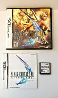 Final Fantasy XII Nintendo DS Complete with Game, Case & Instruction Book