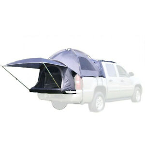 Napier Sportz Avalanche Pickup Truck Bed 2 Person Camping Tent with Awning, Gray