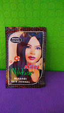 henna HAIR COLOR BROWN BY AFRIN NIKHAR for haircare,100% pure Natural ,Herbal.