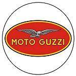 Leather Key Fob Moto Guzzi
