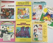 Lot 7 Animal Theme Curriculum Resource Books Grade 1-4 Ideas Activities Homescl