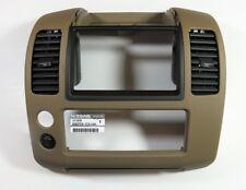 2005 Nissan Pathfinder Center Dash Instrument Panel Cluster Lid OEM 68259-EA10A