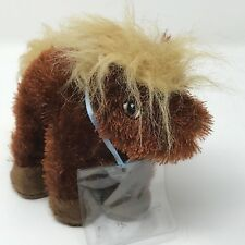 Ganz Webkinz  Lil' Kinz HORSE Rare Retired Brown  (SR522)