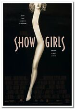 "SHOWGIRLS -1995- orig 27x40 Movie Poster- GINA GERSHON, ELIZABETH BERKLEY - ""A"""
